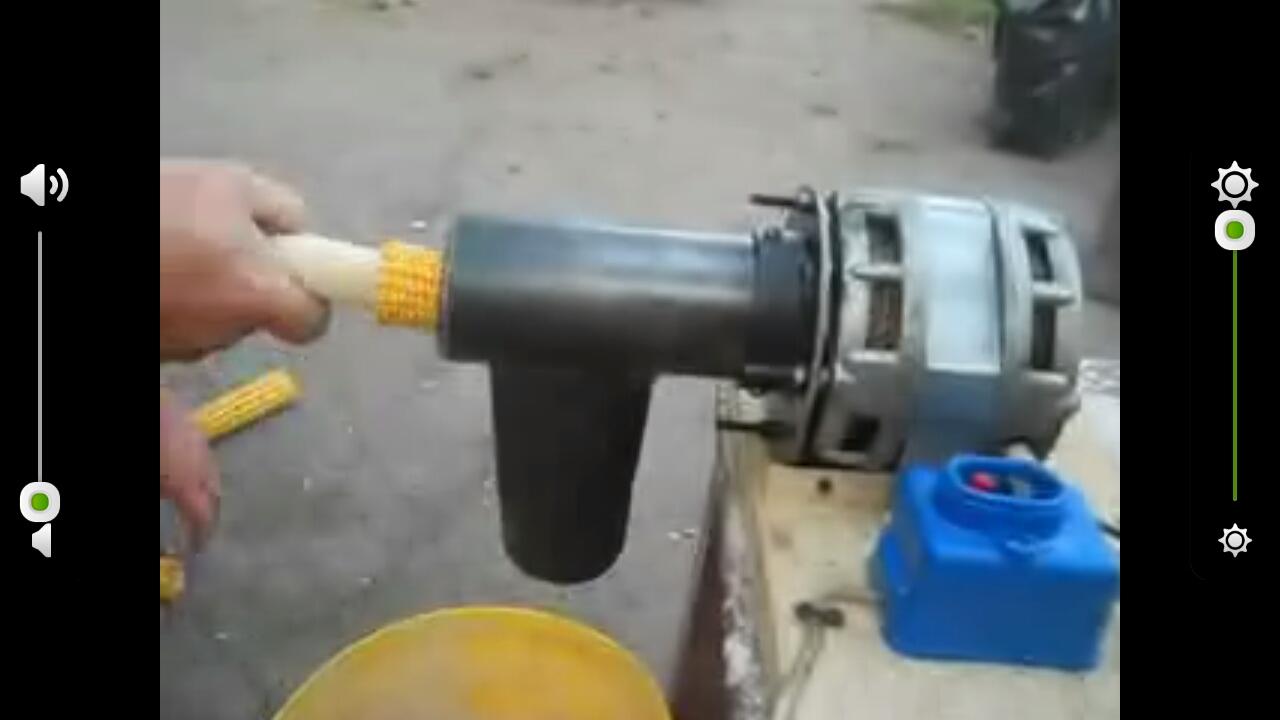 Сделать кукурузу лущилку своими руками