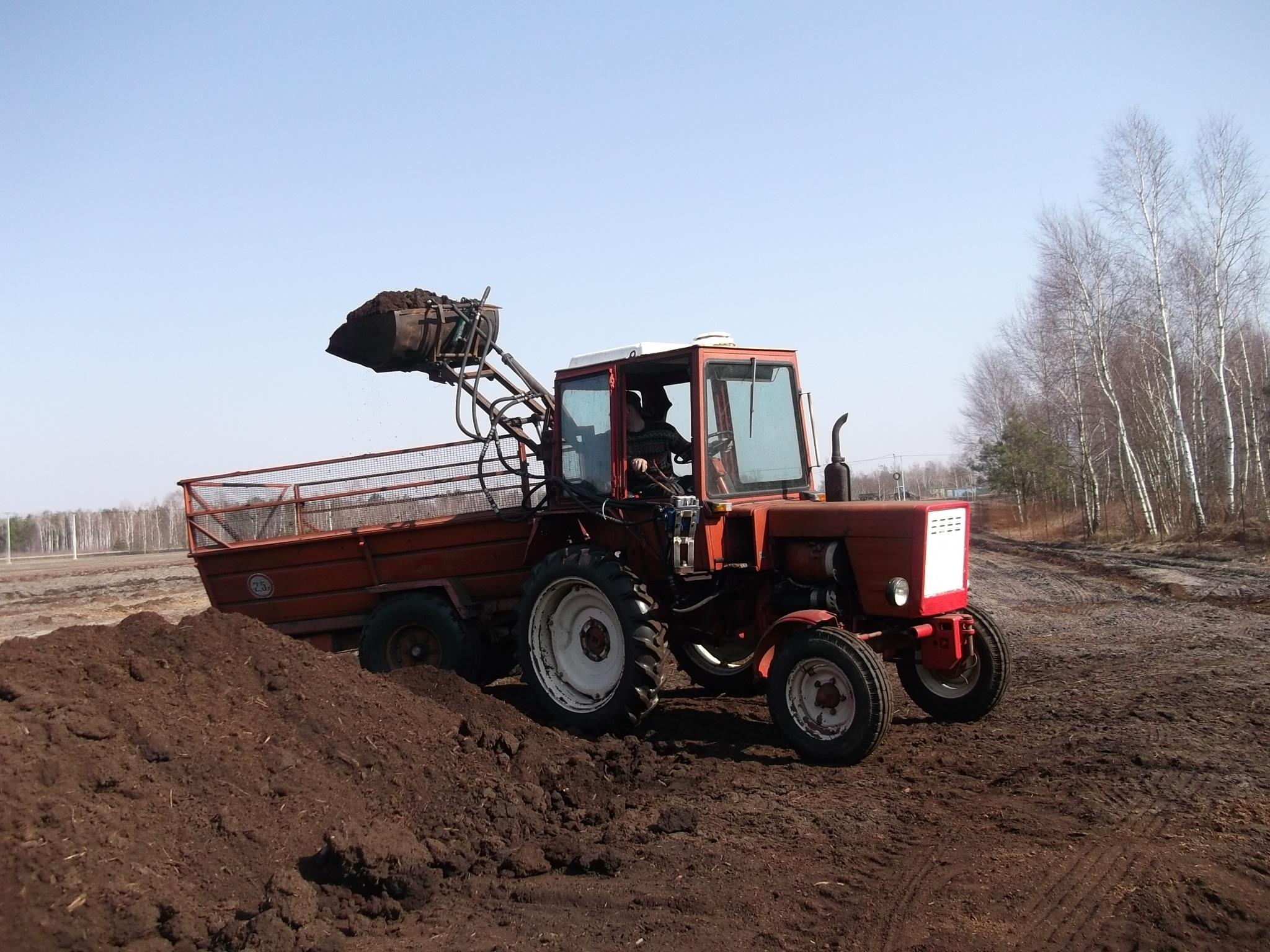 Владимирец трактор, малая спецтехника трактор