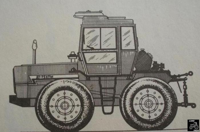 Дт 75 на колесах как сделано 196
