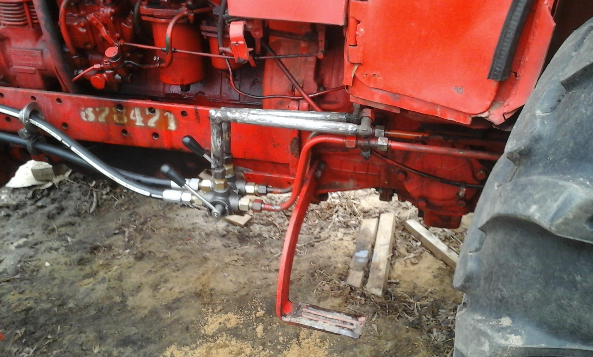 Как сделать самодельный отвал на трактор