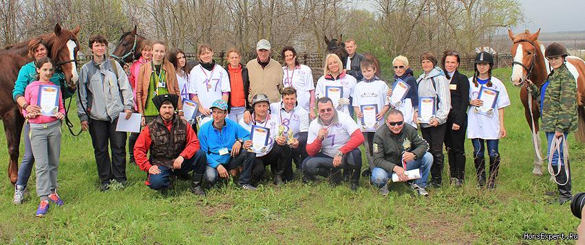 Конные пробеги в Ростовской области