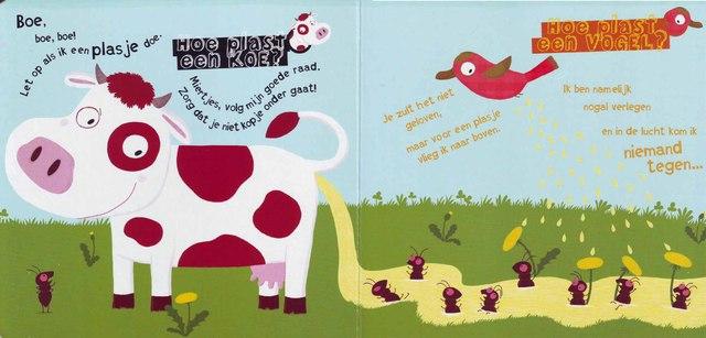 Хорошо, что коровы не летают. Однако, судя по всему, в Голландии водятся на редкость писючие птицы. А я-то была уверена, что они не умеют...